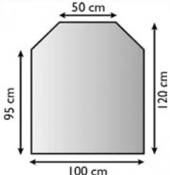 Sklo pod krbová kamna 21.02.889.2 LIENBACHER 8mm