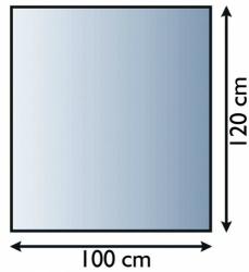 Sklo pod krbová kamna 21.02.895.2 LIENBACHER 8mm