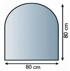 Sklo pod krbová kamna 21.02.897.2 LIENBACHER 8mm