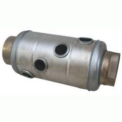 Teplovzdušný výměník - nástavec kouřový GÁJO 118 - 120 mm