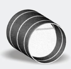 Zpětná klapka 125mm do potrubí